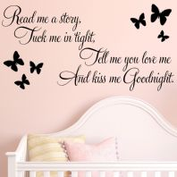 Read Me a Story Baby Nursery / Childrens ~ Wall sticker / decals
